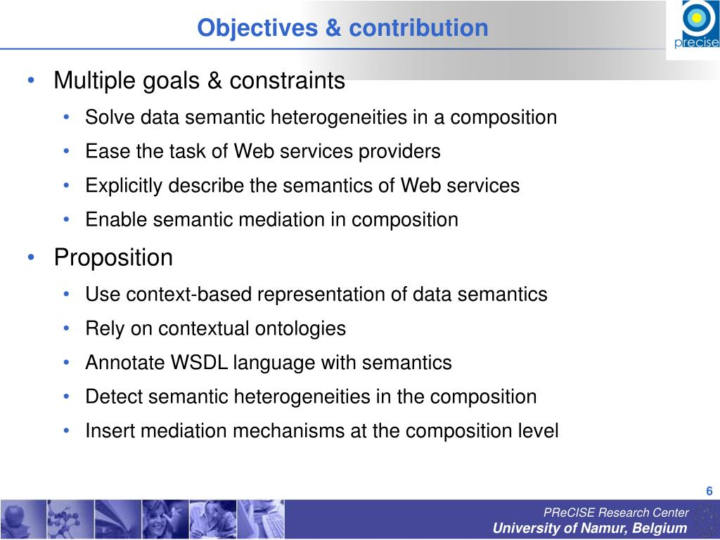Objectives & contribution