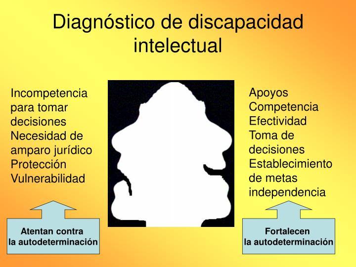 Diagnóstico de discapacidad intelectual