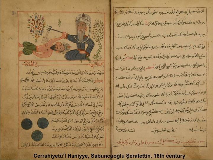 Cerrahiyetü'l Haniyye, Sabuncuoğlu Şerafettin, 16