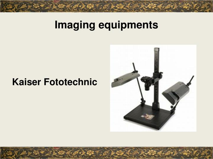 Imaging equipments