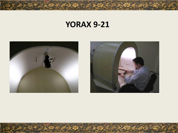 YORAX 9-21