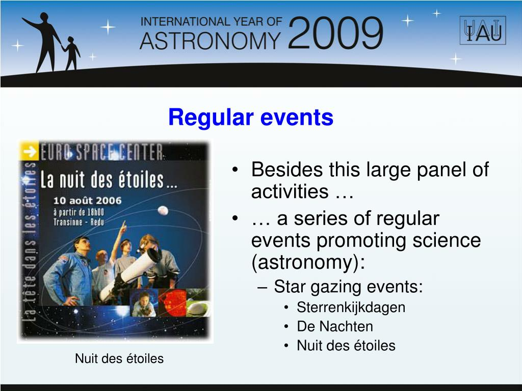 Besides this large panel of activities …