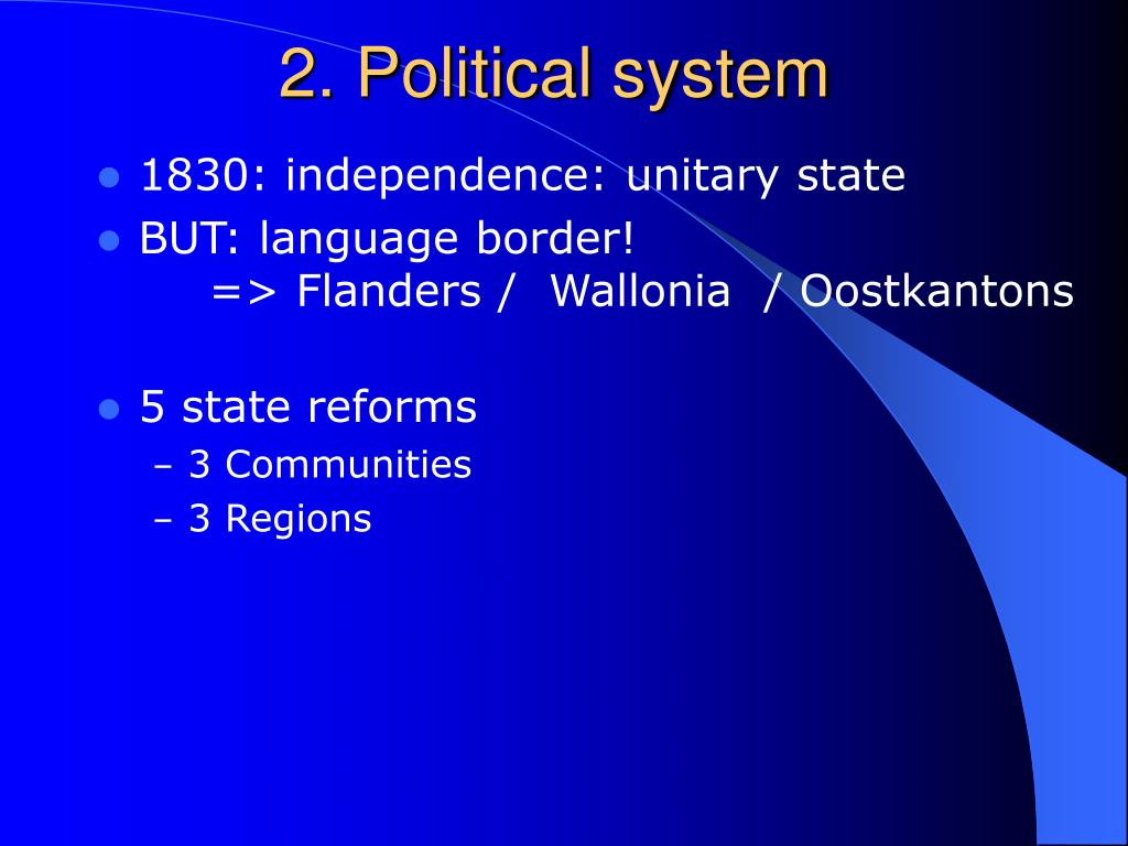 2. Political system