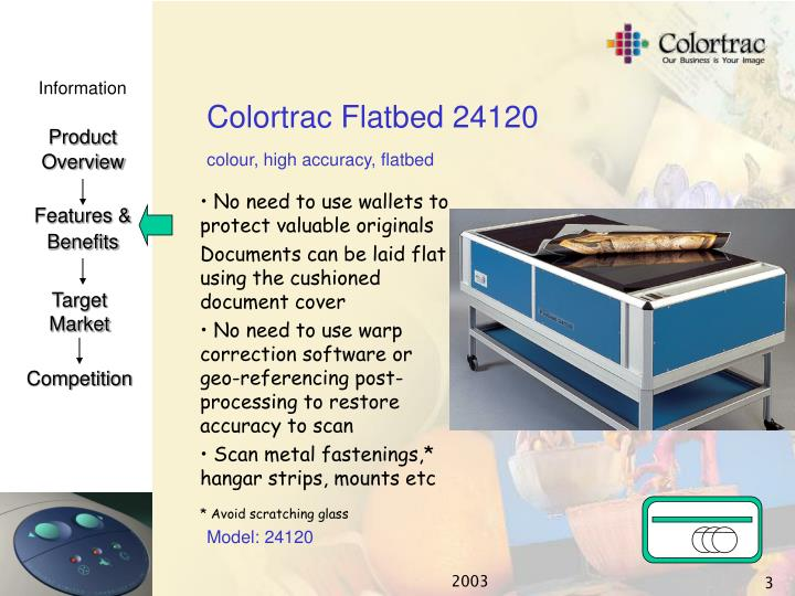 Colortrac flatbed 241202
