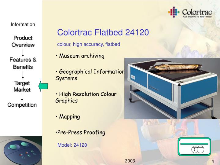 Colortrac Flatbed 24120