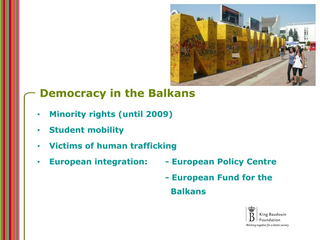 Democracy in the Balkans