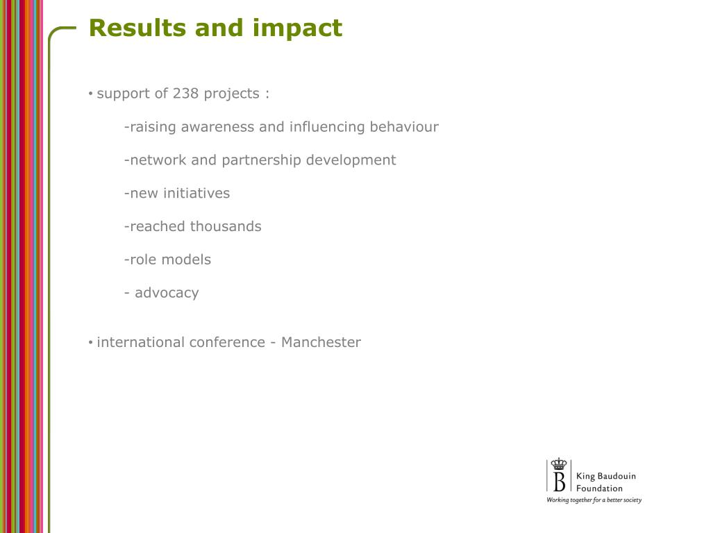 Results and impact