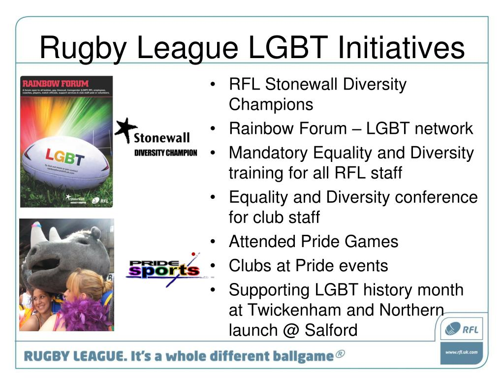Rugby League LGBT Initiatives