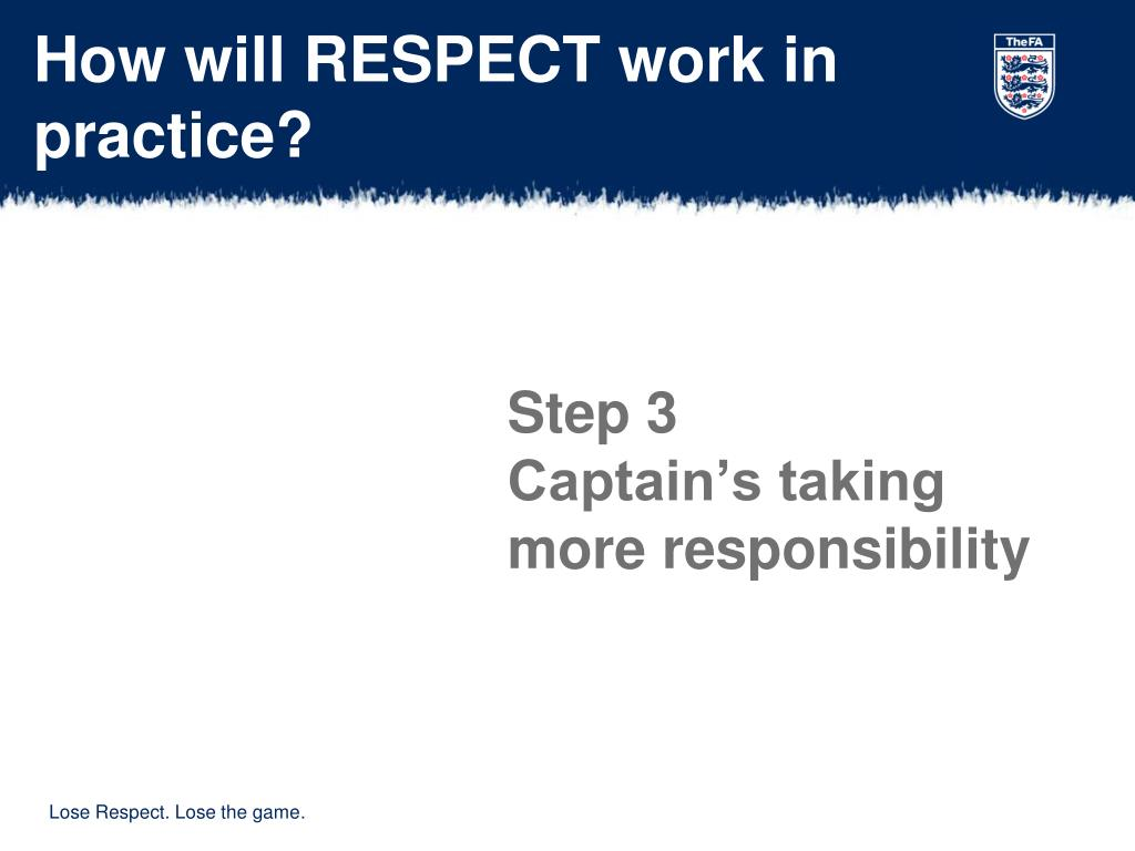 How will RESPECT work in practice?