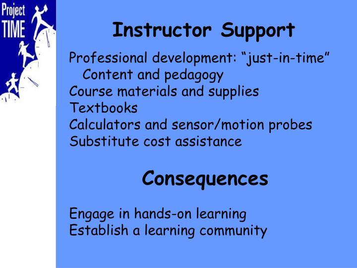"""Professional development: """"just-in-time"""""""