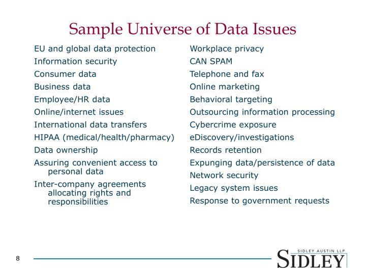 EU and global data protection