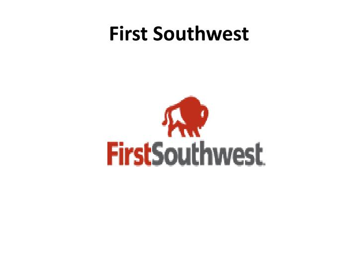 First Southwest