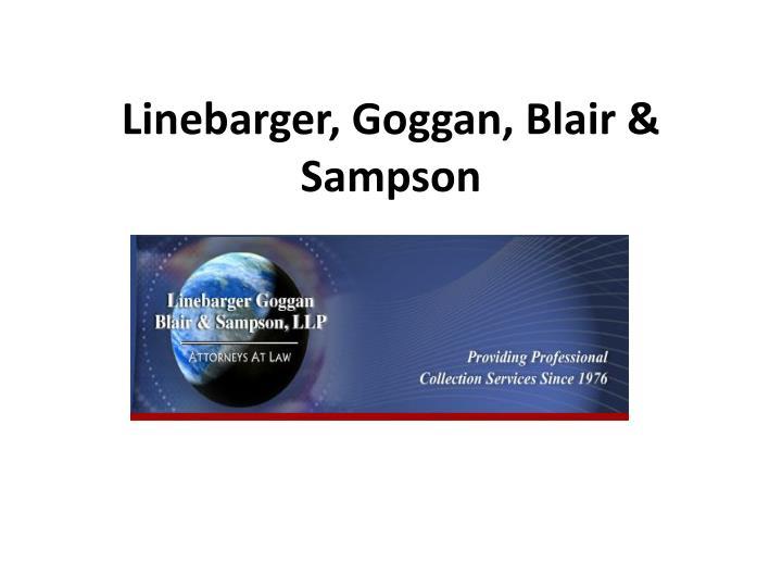Linebarger, Goggan, Blair & Sampson