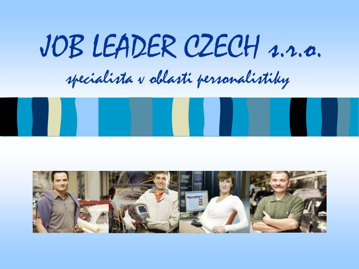 Job leader czech s r o