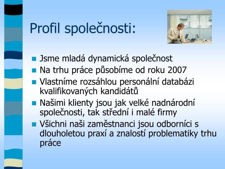 Profil společnosti:
