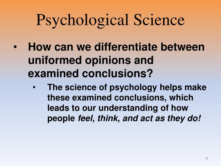 thinking critically with psychological science ppt Thinking critically with psychological science chapter 1 3 thinking critically with psychological science thinking critically.