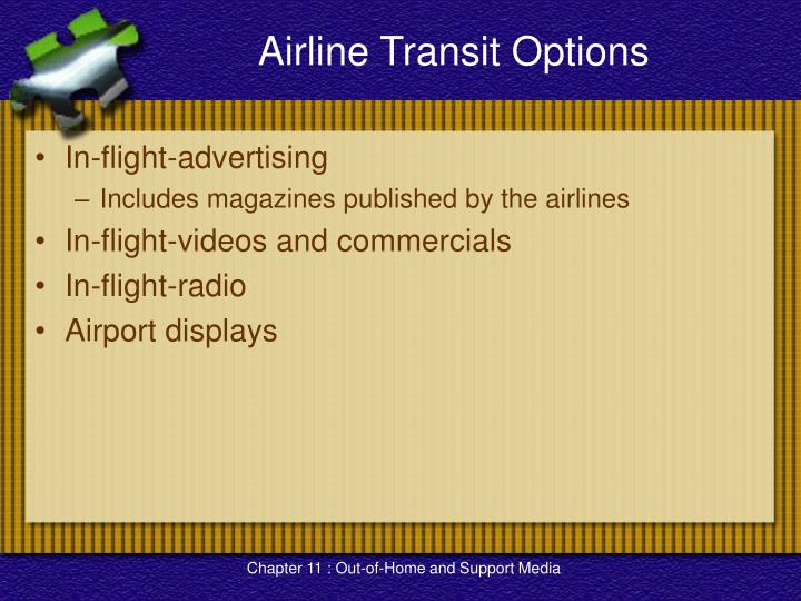 Airline Transit Options