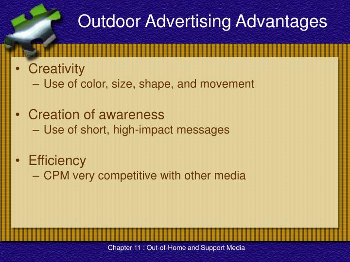 Outdoor Advertising Advantages