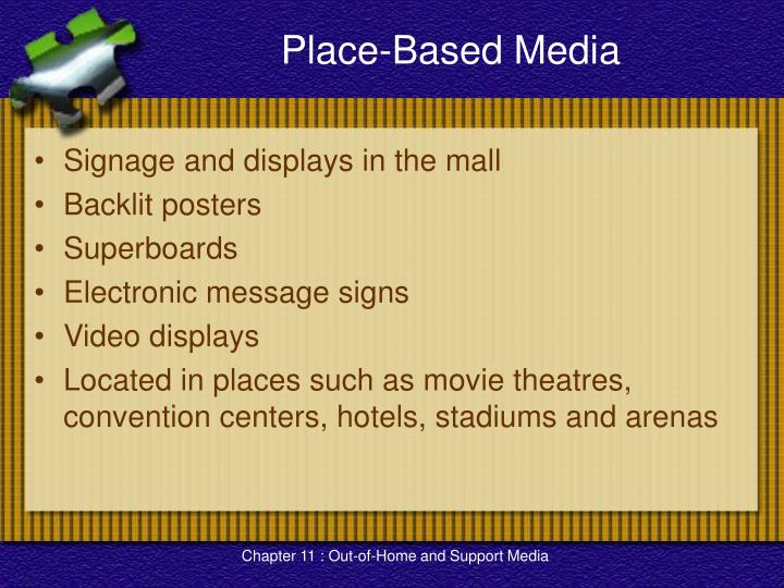 Place-Based Media