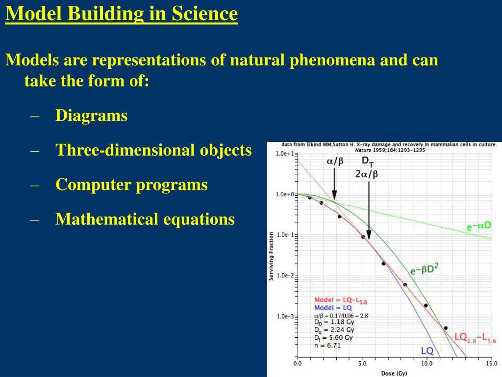 Model Building in Science