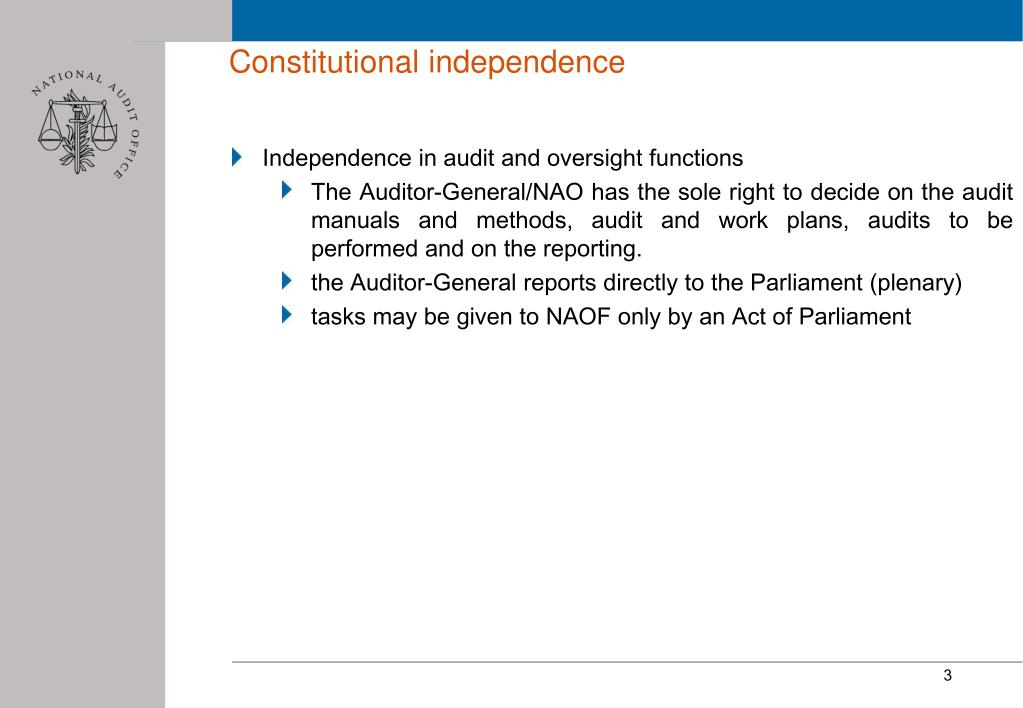 Constitutional independence