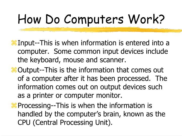 how computers work presentation Read reviews, compare customer ratings, see screenshots, and learn more about microsoft powerpoint download microsoft powerpoint and enjoy it on your iphone, ipad, and ipod touch.