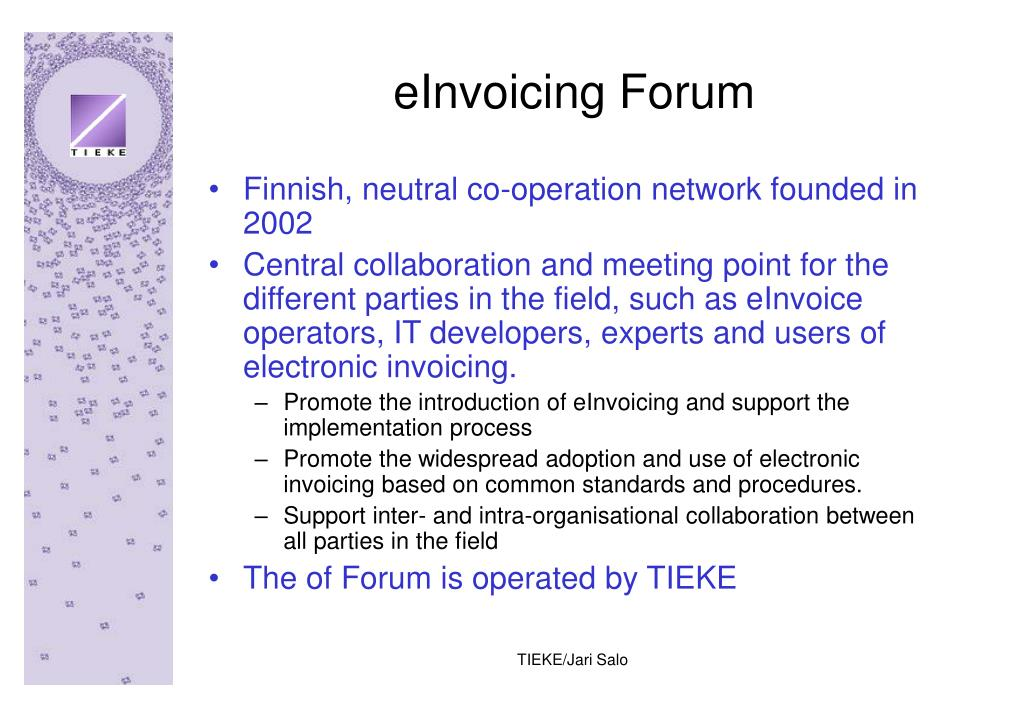 eInvoicing Forum