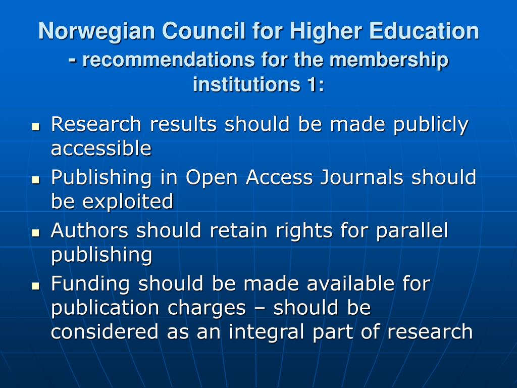 Norwegian Council for Higher Education  -