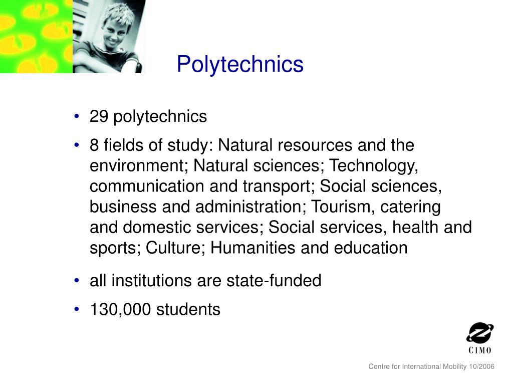Polytechnics