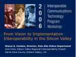 from vision to implementation interoperability in the silicon valley