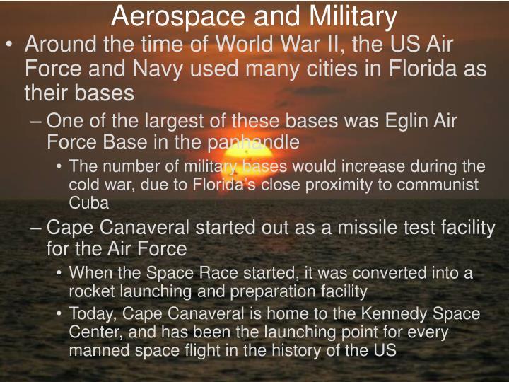 Aerospace and Military