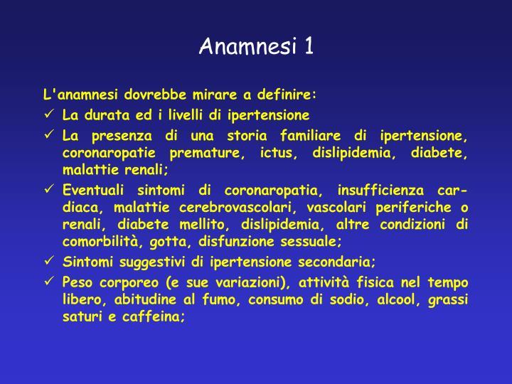 Anamnesi 1