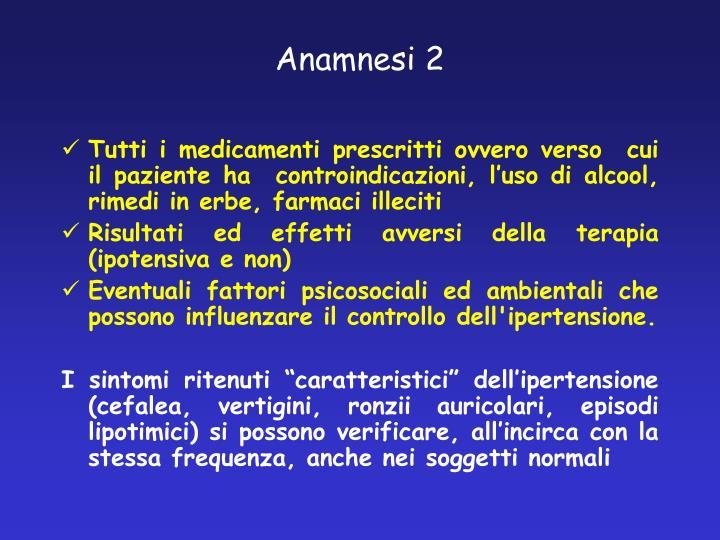 Anamnesi 2