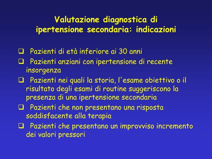 Valutazione diagnostica di