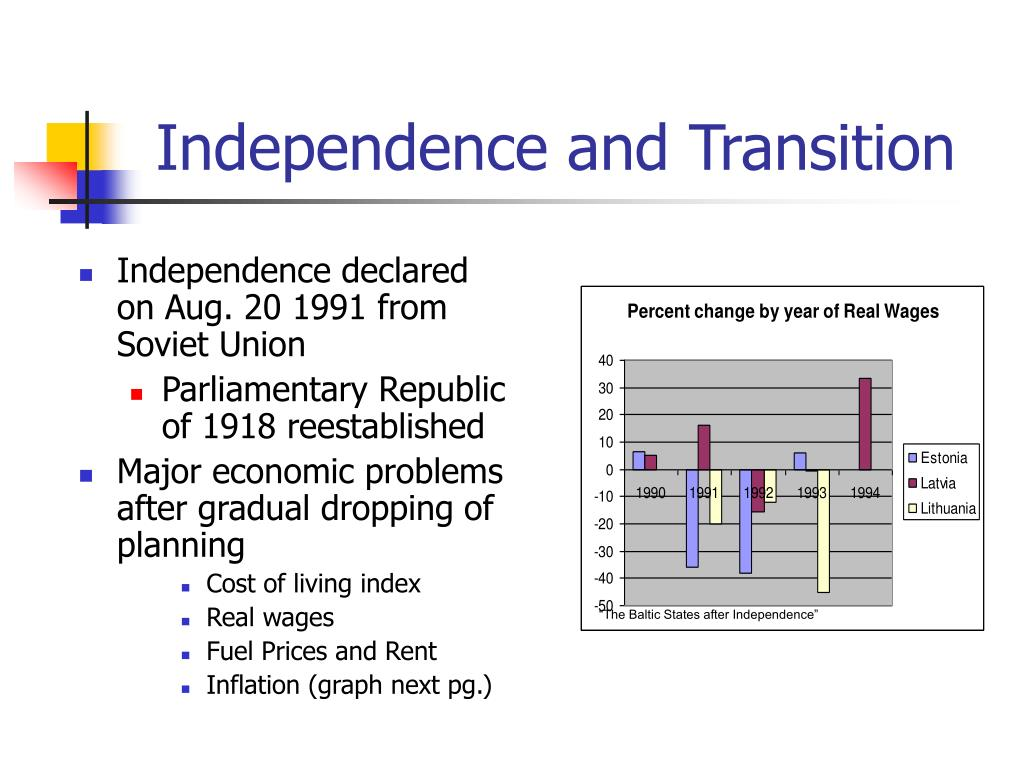 Independence and Transition
