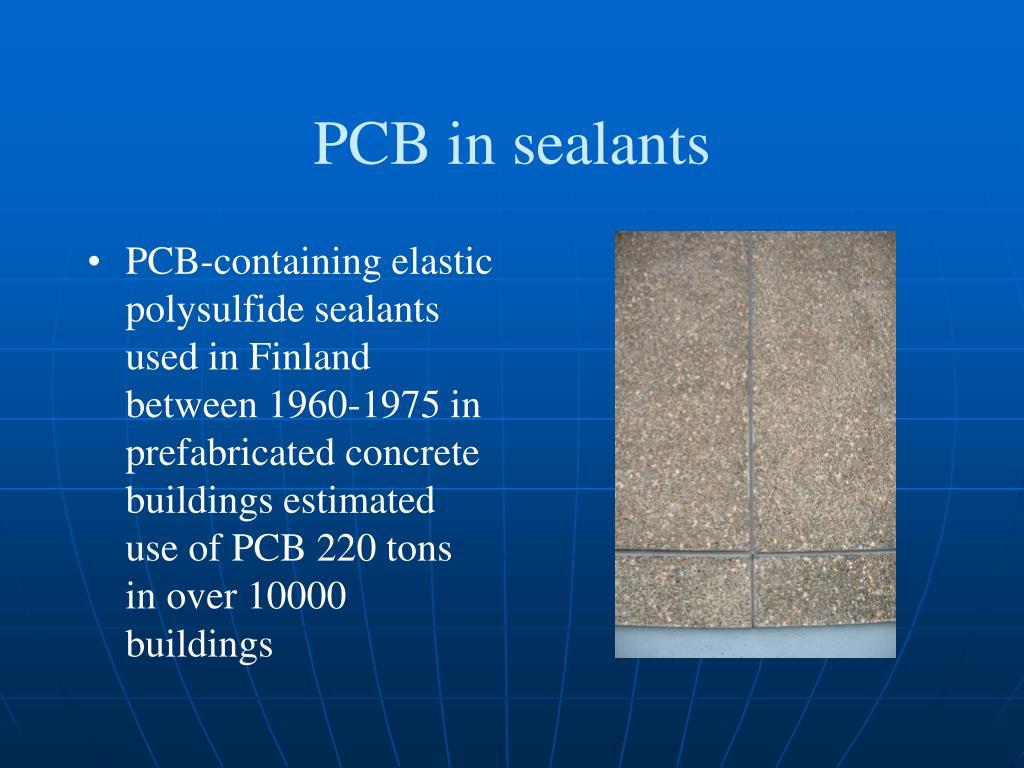 PCB in sealants