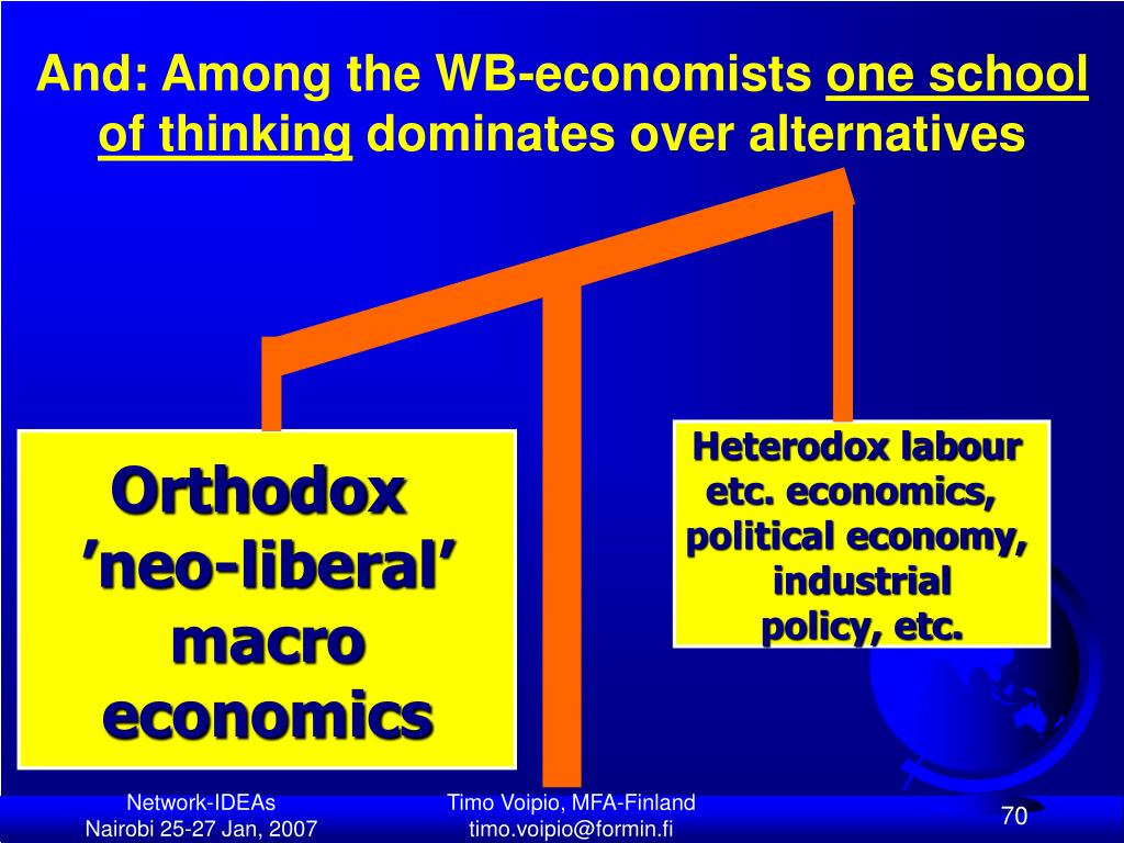 And: Among the WB-economists