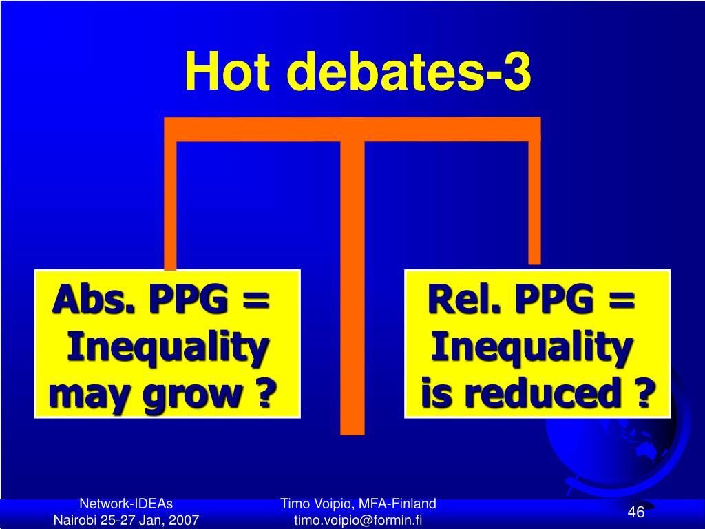 Hot debates-3