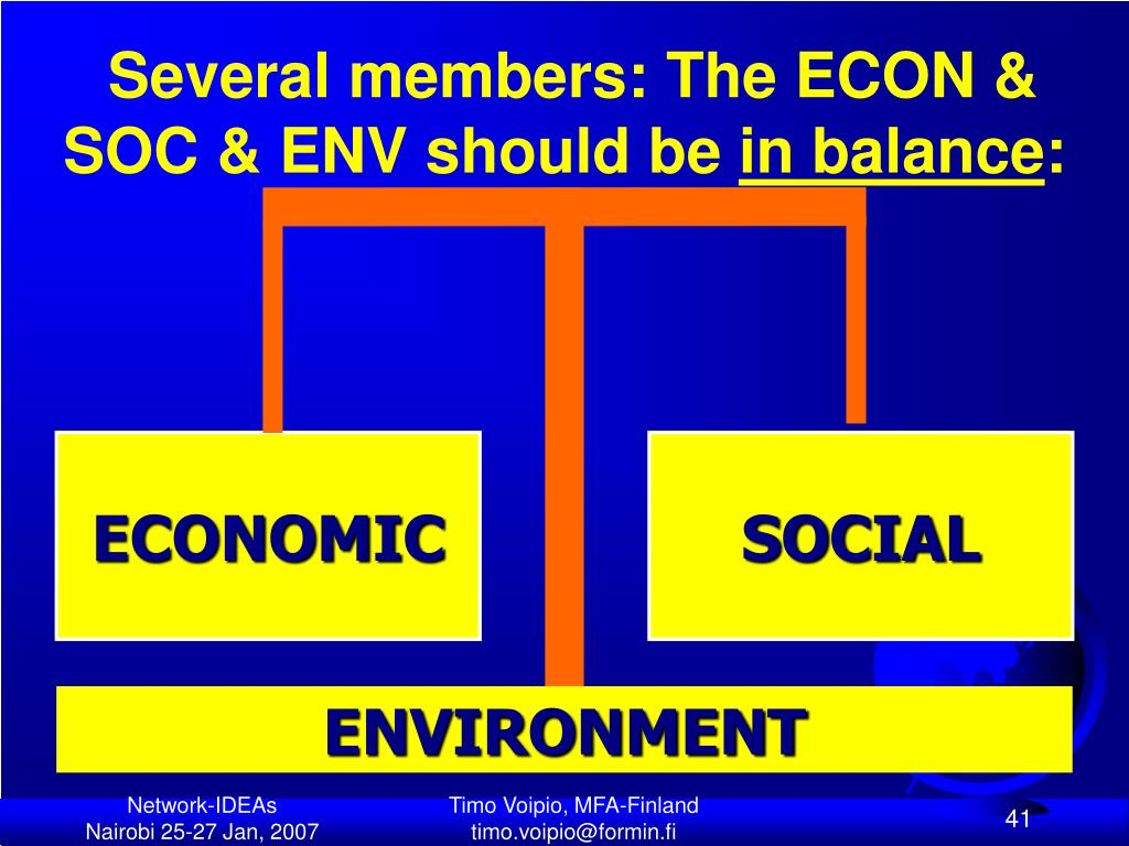 Several members: The ECON &