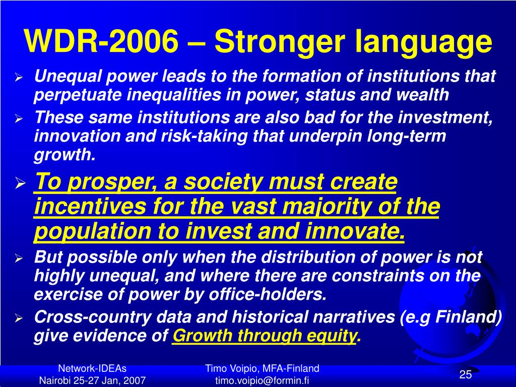 WDR-2006 – Stronger language