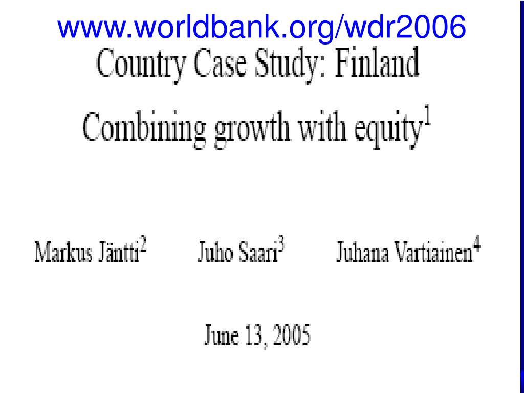 www.worldbank.org/wdr2006