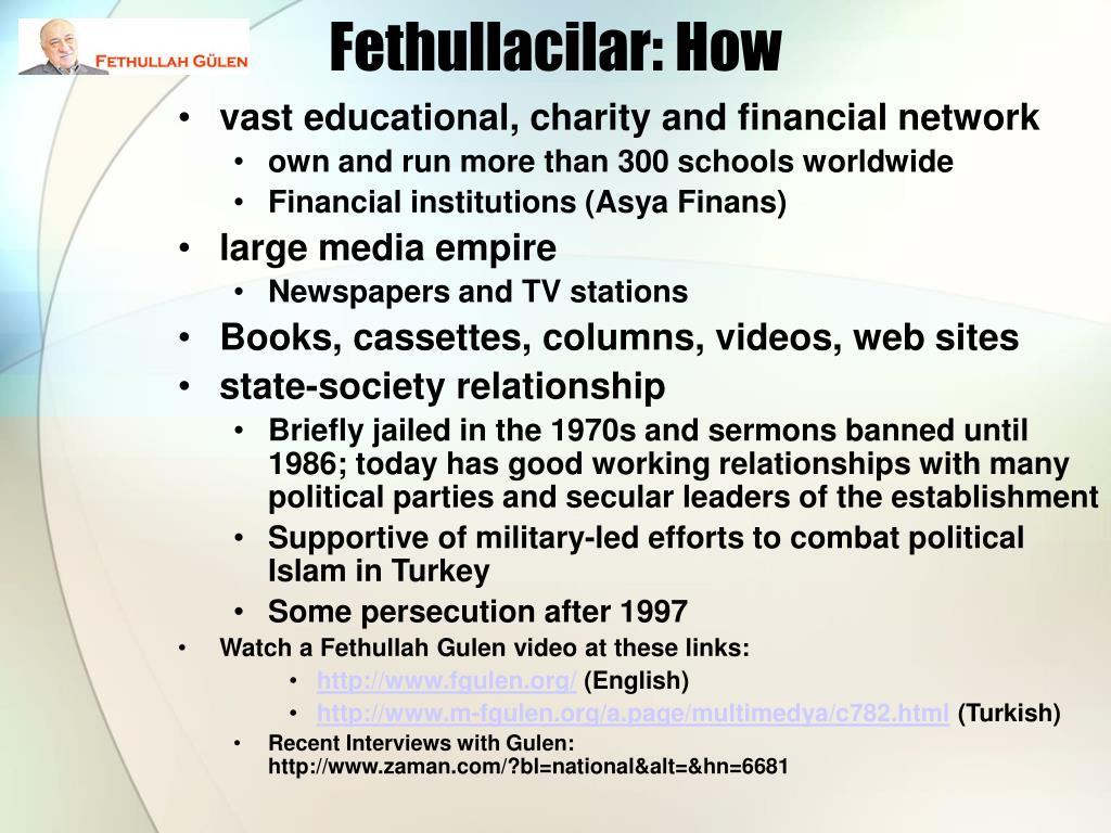 Fethullacilar: How