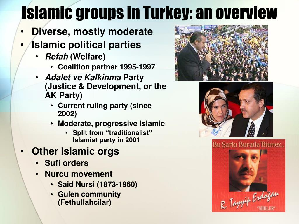 Islamic groups in Turkey: an overview