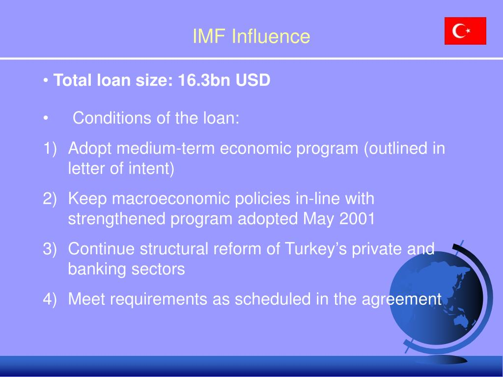 IMF Influence
