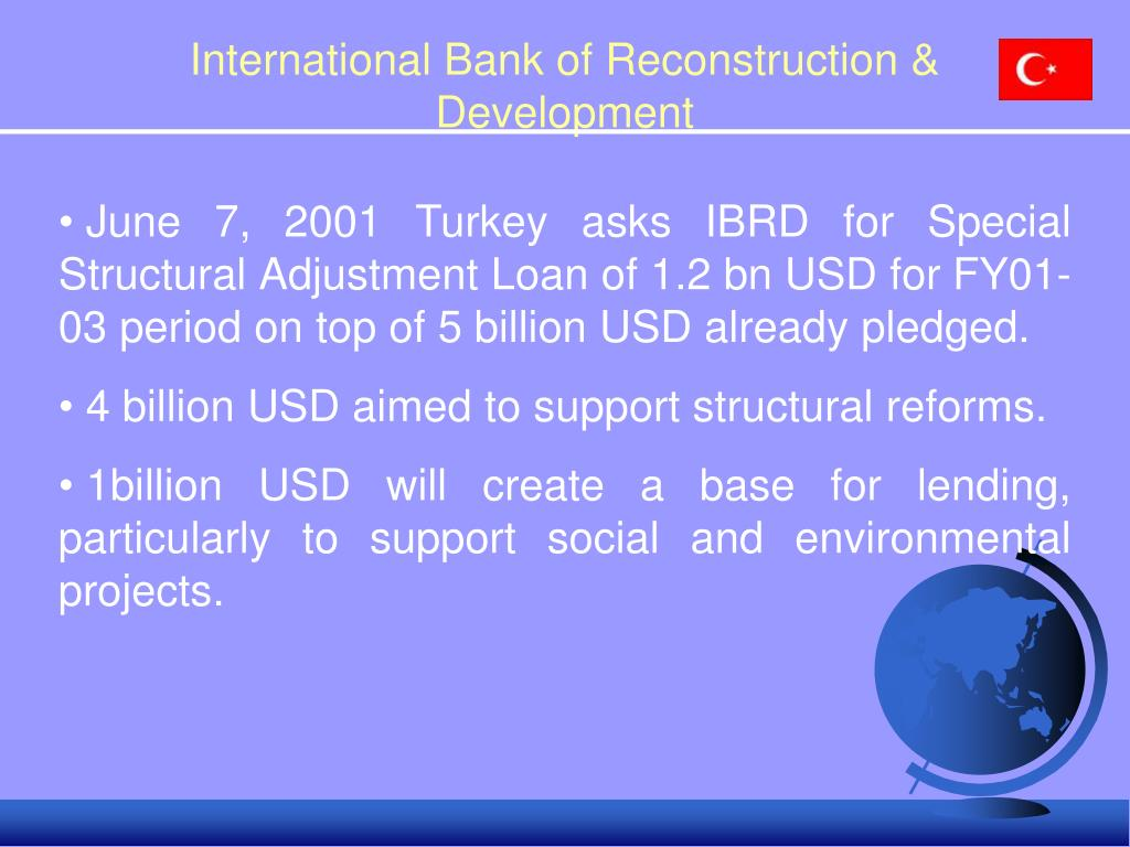International Bank of Reconstruction & Development