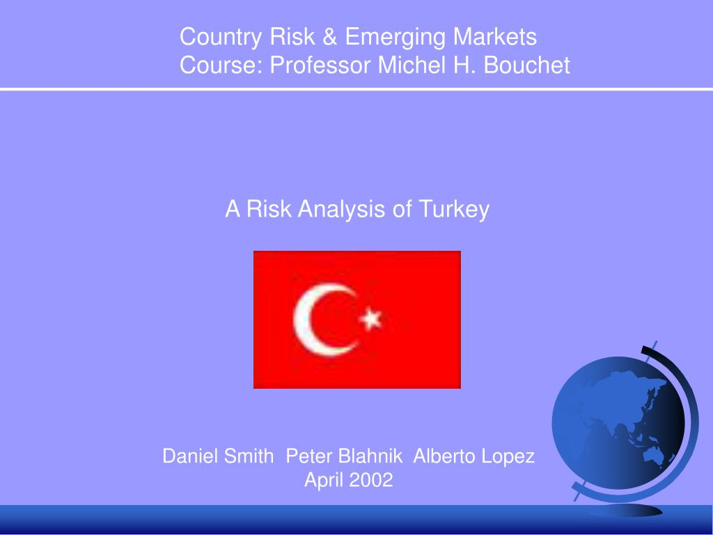 Country Risk & Emerging Markets