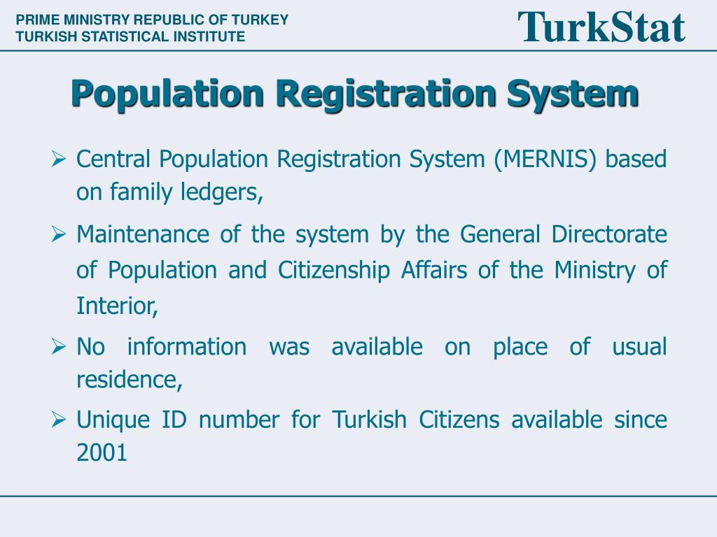 Population Registration System