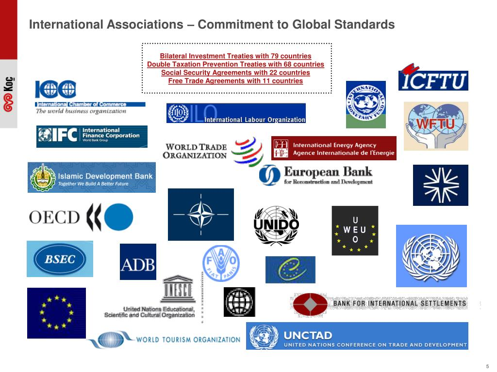 International Associations – Commitment to Global Standards