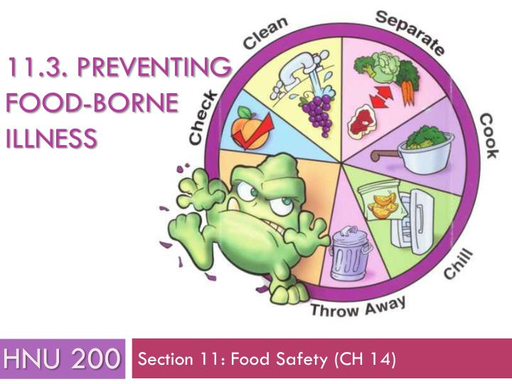 11 3 preventing food borne illness