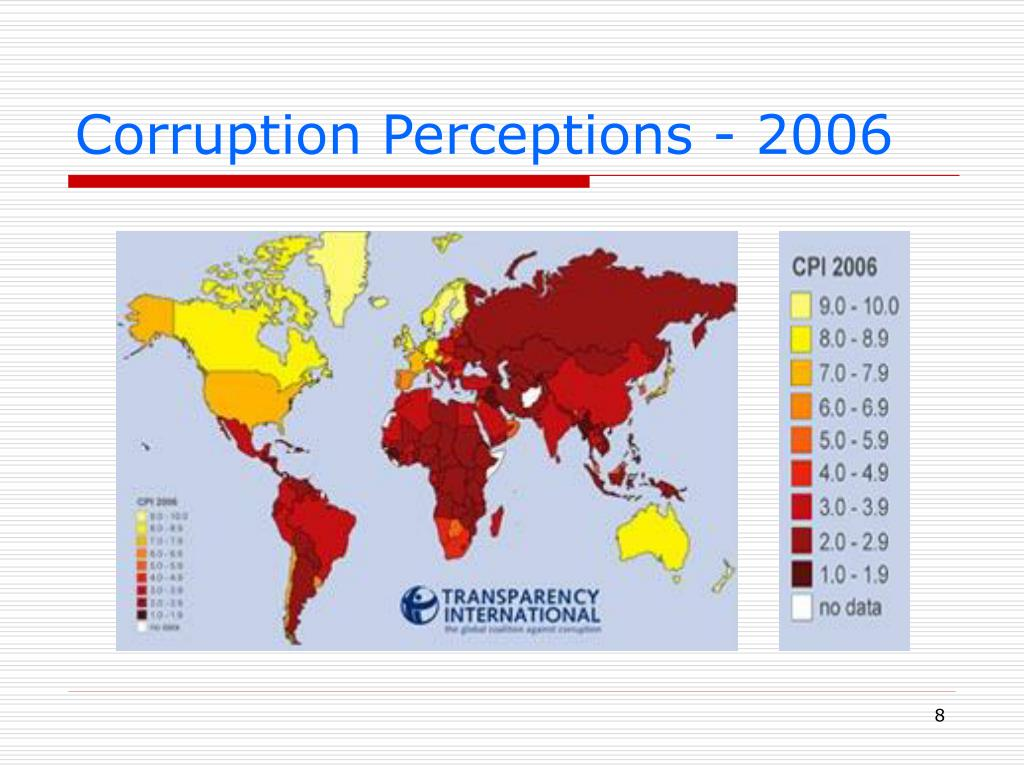 Corruption Perceptions - 2006